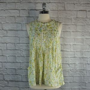 French Connection Floral Babydoll Top